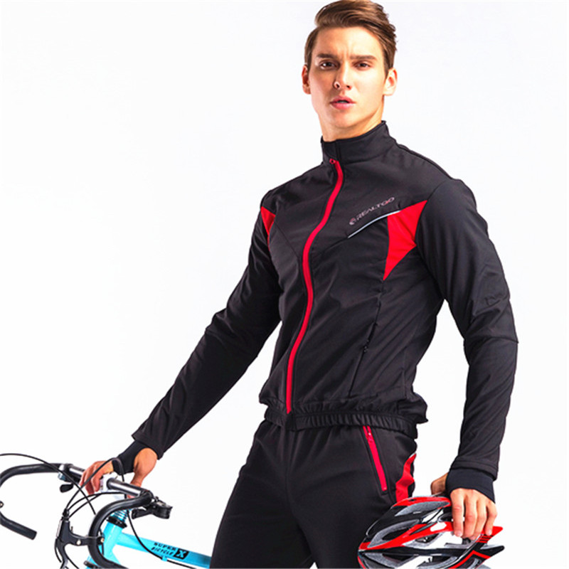 Cycling Clothing Sets Mens Road Bike Clothes Cycling Jersey Autumn Winter Set Man Female Sport Bike Suits Cycling Sets Long in Cycling Sets from Sports Entertainment