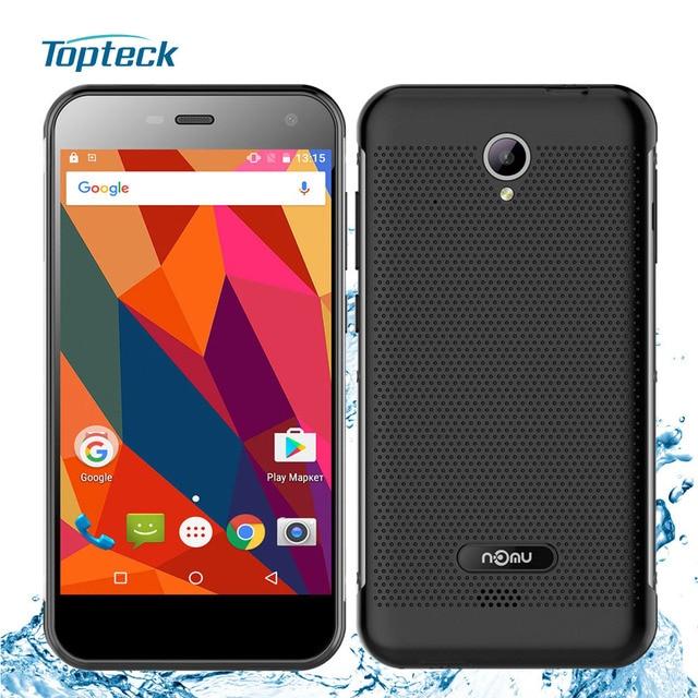 "Nomu S20 IP68 Waterproof 4G Smartphone Android 6.0 MTK6737T Quad Core 5.0"" IPS Cellphone 3GB+32GB 13MP 3000mAh OTG Mobile Phone"