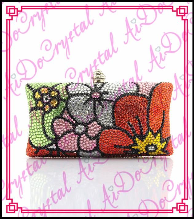 Aidocrystal handmade pearls Latest Design Women Fashion Clutch purse
