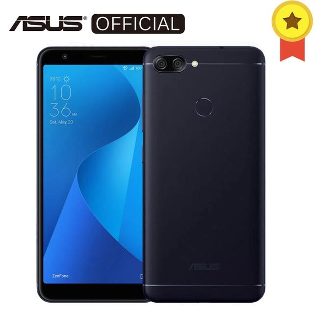 Asus Zenfone Peg ASUS 4S Max плюс (m1) 5.7 дюймов 18:9 полный Экран Octa core 4 ГБ Оперативная память 32 ГБ Встроенная память android7.0 4130 мАч телефона Touch ID