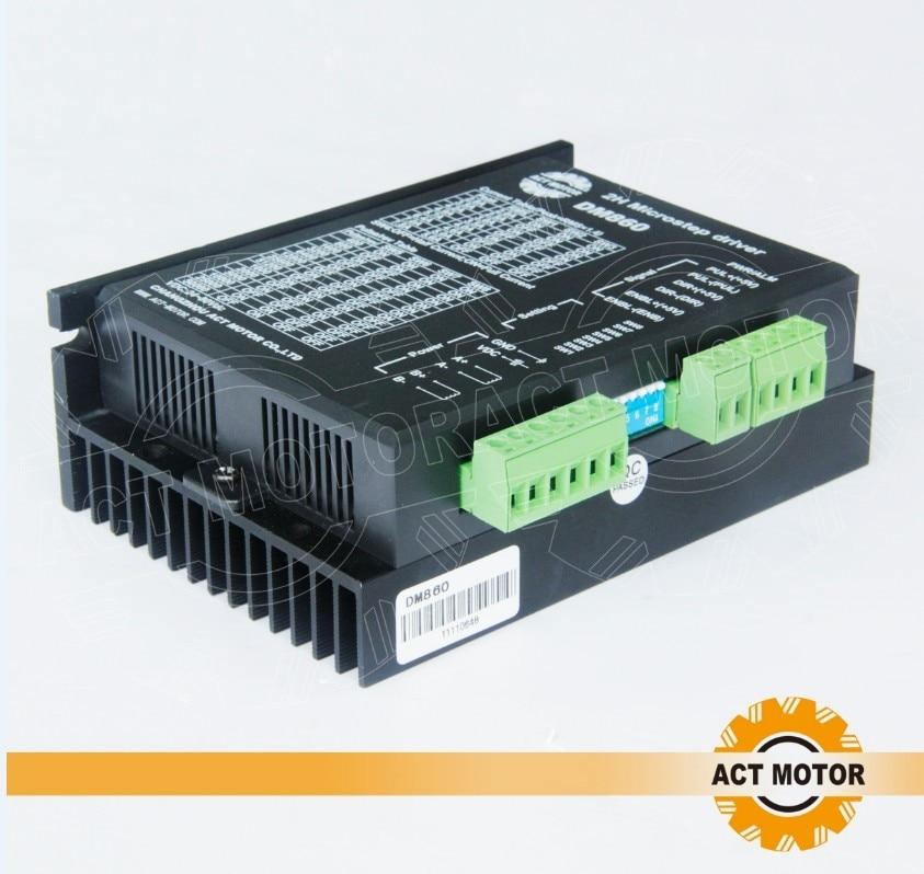 DHL free to EU Nema 34 stepper motor Driver DM860,peak 7.8A ,256micsteps CNC
