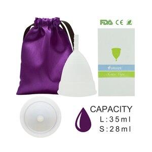 Image 4 - Gobelet menstruel pour femmes, hygiène féminine, gobelet médical en silicone, réutilisable, offre spéciale