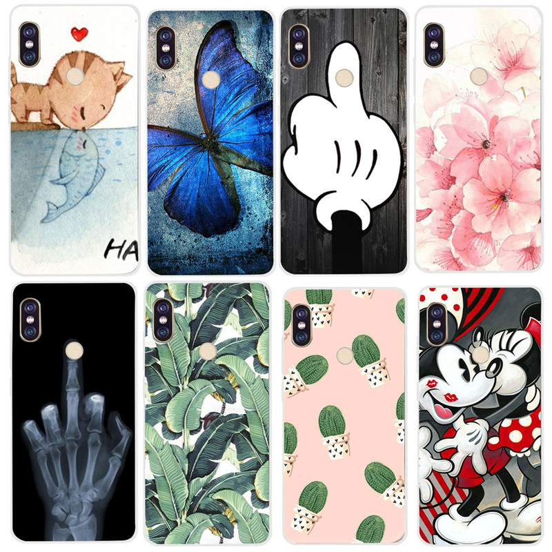 Case For Xiaomi Redmi Note 5 Case Redmi Note 5 Pro Case Silicone TPU Bumper Cover For Redmi 5 Plus 5A 6A 6 4A Note 4 4X Case