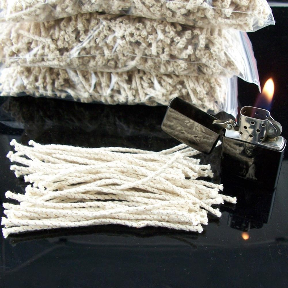 20Pcs /50PCS Copper Wire Cotton Core Wick Wicks Thread For Zippo Petrol Oil Lighters The Real Wick Free Shiping