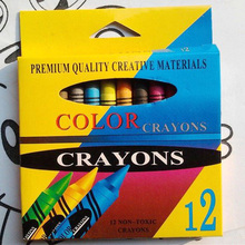144PCS/12BOX/LOT,12 colors crayon,Drawing toy sets.Kindergarten supplies.Early e