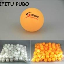 Новинка, 30 шт./лот, белые мячи для пинг-понга, 4 см, оранжевые мячи для настольного тенниса, Прямая поставка