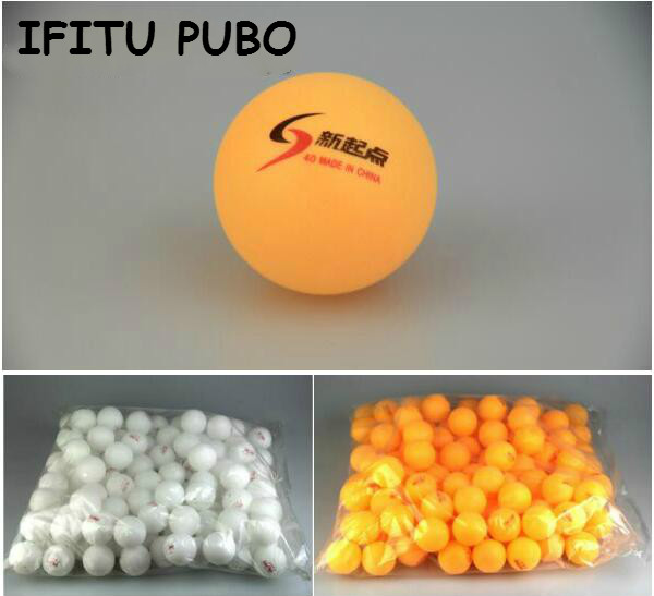 New 30Pcs/lot Tennis White Ping Pong Balls 4cm Orange Table Tennis Balls Free shipping