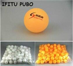 Nouveau 30 Pcs/lot balles de Ping-Pong blanches 4 cm balles de Tennis de Table Orange livraison directe