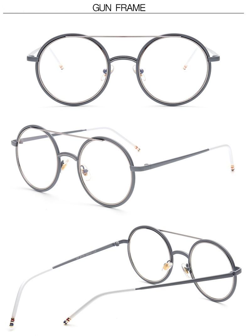 d623124ee8 2017 Vintage Fashion Eyewear Frames Women Men Eye Glasses Frames ...