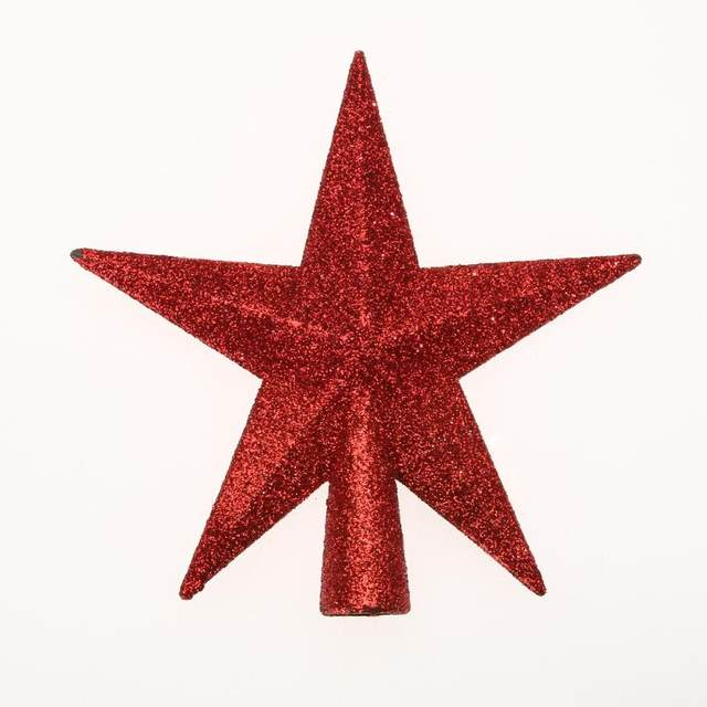 Christmas Tree Top Stars Pine Garland Sparkle Ornament Christmas Decoration for home Christmas Tree Ornament Topper Party Decor 25