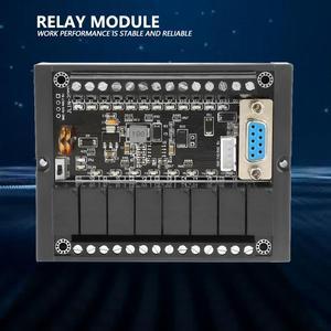 Image 2 - PlcプログラマブルロジックコントローラFX1N 20MR産業用制御ボードDC10 28Vリレー遅延モジュールとシェル