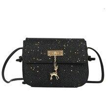 2018 Glitter Crossbody Bags Flap Women Messenger Bags Cute Cheap Small  Handbags Casual Fashion Female Brand c8e093dc64c9
