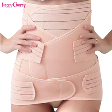 Happy Cherry Polyester Pregnant Woman Prenatal Corset Belly Belt Maternity Pregnancy Support Band Postpartum Bandage