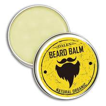 Beard Balm Conditioner Smoothing 100% Natural Men Facial Mustache Grooming Moisturizing Beard Growth(China)