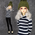 2016 New Dolls Accessories 1/4 BJD Clothing Fashion Clothes Sweater For BJD Doll