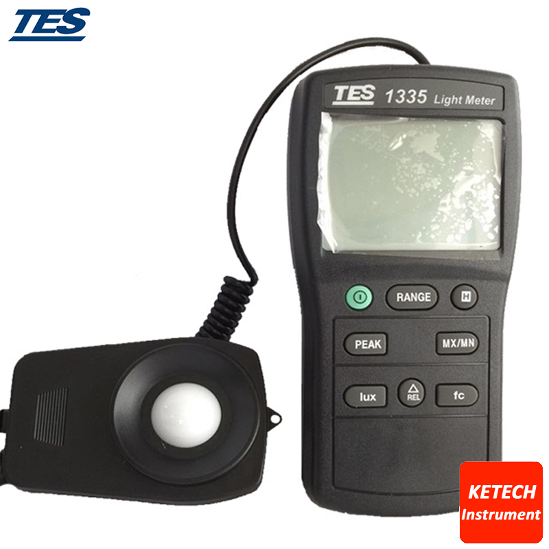 TES1335 Digital Light Meter Ranging 0 to 400 000 Lux|light meter|light lux meter|light meter lux - title=