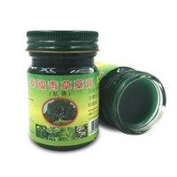 Тайский массажный крем освежающий кожу травяной уход крем головокружение головная боль лечение тайский обезболивающая мазь снять массаж ...