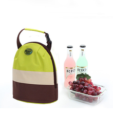 Lunch Box Folding Thermal Bag Fresh Keeping Waterproof Oxford Beer Cooler Bag Cooling Handbag PVC Ice Pack Coke Cooler Bag