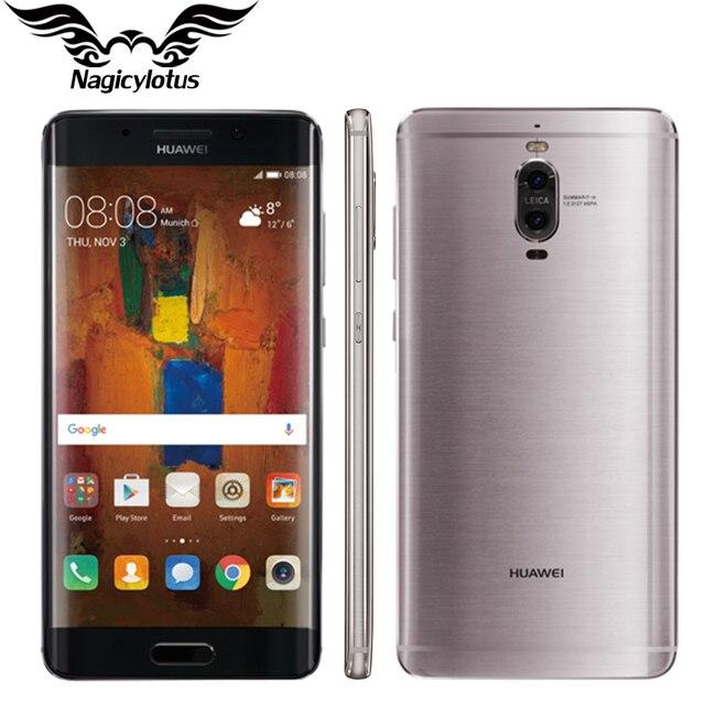 """Оригинал Huawei Mate 9 Pro 4 Г LTE Мобильный Телефон Окта Ядро 4 Г RAM 64 Г ROM 5.5 """"HD Android 6.0 Отпечатков Пальцев ID 20MP + 12MP Смартфон"""