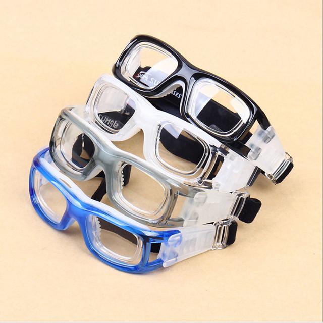 Protección seguridad en los deportes gafas anteojos ópticos miopía a prueba de viento ciclismo gafas graduadas gafas de fútbol baloncesto 3-042