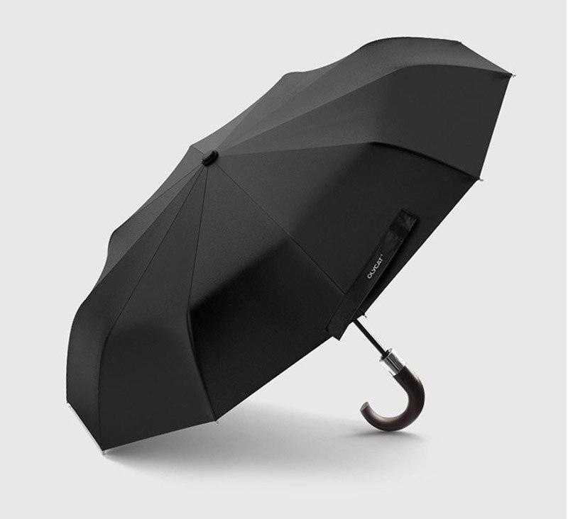 Gentleman High Quality Windproof Anti UV//Rain Automatic Folding Men/'s Umbrella