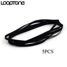 LoopTone 5 adet pikap kemer değiştirme Retro vinil plak çalar her türlü Fit kayış tahrikli Turntable