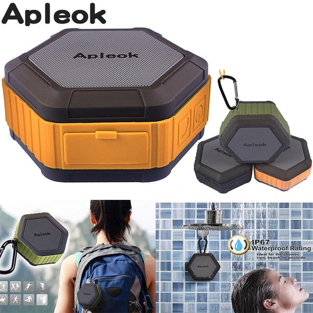 Apleok Mini Bluetooth Speaker Ip67 Waterproof Audio Loudspeaker Music Portable Beach Outdoor Shower Wireless Smartphone Altavoz