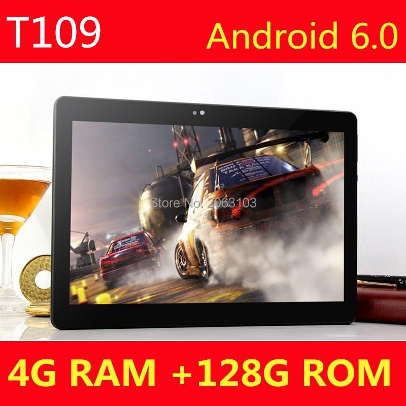 10 дюймов Android Планшеты PC Octa core 4 ГБ Оперативная память 128 ГБ Встроенная память 8 core dual sim карты GPS Bluetooth телефонный звонок подарки середине Планш...