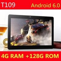 10 polegada tablet PC Android Octa Núcleo 4 GB RAM 128 GB ROM 8 Presentes de núcleo Dual SIM Card GPS Bluetooth phone Call MID Tablets 10 10.1