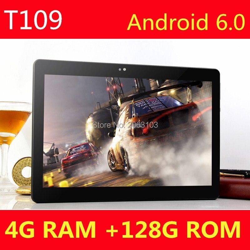 10 pouce Android tablet PC Octa Core 4 GB RAM 128 GB ROM 8 Core Dual SIM Carte GPS Bluetooth Appel téléphone Cadeaux MID Comprimés 10 10.1