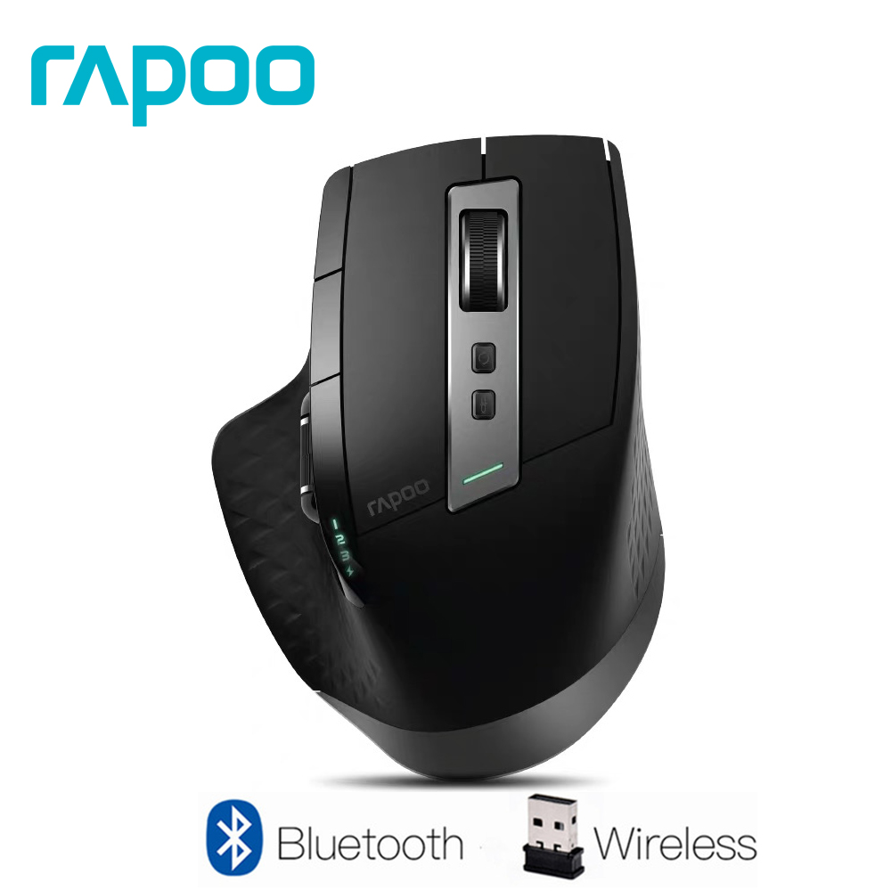 Rapoo Rechargeable Multi mode Wireless Mouse Bluetooth 3 0 4 0 And 2 4G Switch For