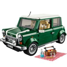 Mailackers Legoing Technic The MINI Cooper 1108Pcs Set Building Blocks Toys For Children Legoings Creators Car Kids Gifts Toys(China)