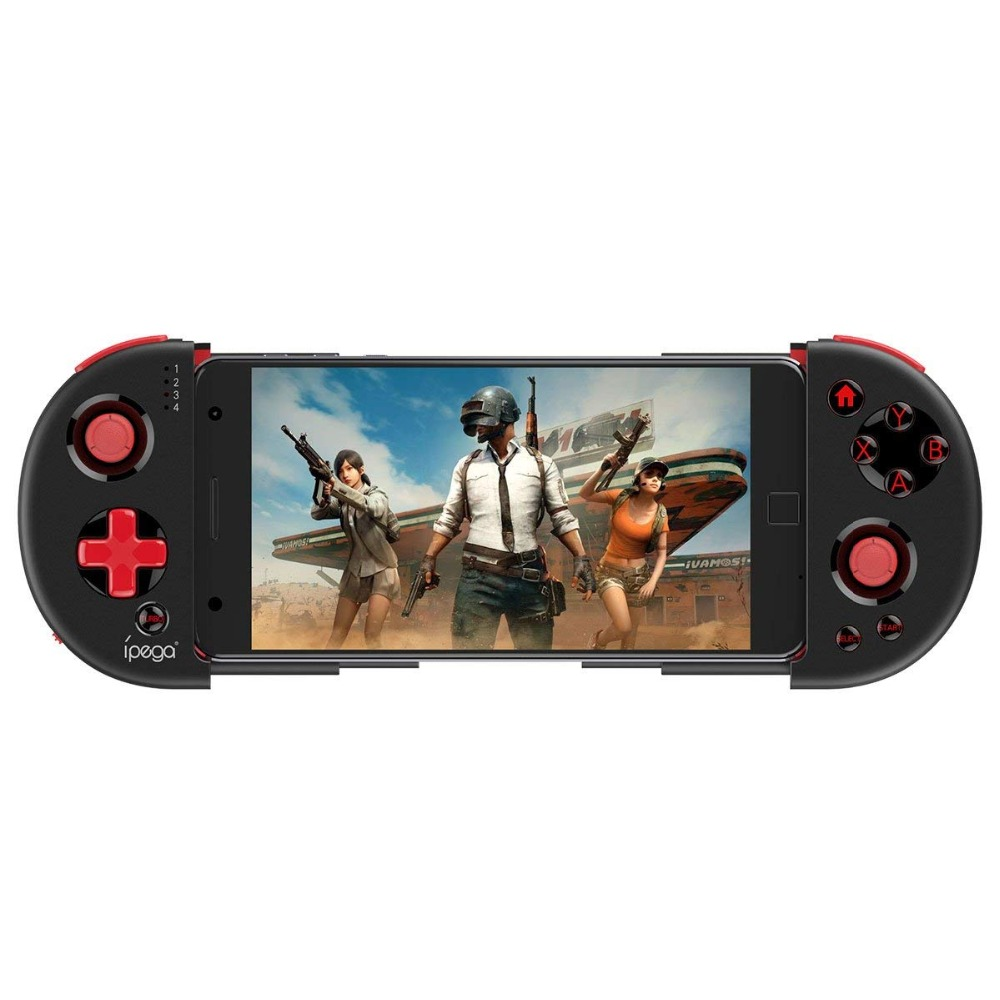 Yoteen Mobile Phone Gamepad Telescopic Wireless Bluetooth Game Controller for Smart Phone Android iOS doitop wee wireless bluetooth gamepad smart phone game controller joystick 3 5 6 3 stretching gaming game pad for ios andriod
