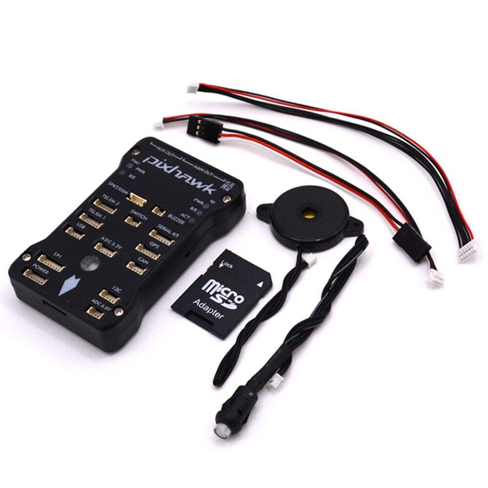 New Frame Servo Fpv Rc Car Pixhawk Px4 Autopilot Pix 2.4.8 32 Bit Flight Controller With Safety Switch And Buzzer