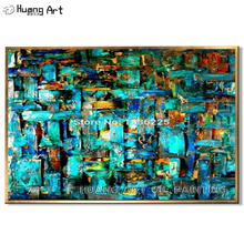 oil painting reproduction pop art canvas colorful paintings abstract handmade bright colored for decor