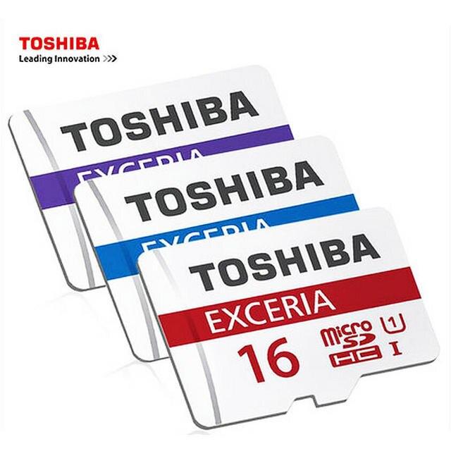 Подлинная TOSHIBA карты Памяти карта micro sd 16 ГБ Class10 UHS-1 3.0 скорость чтения 48 МБ/С. для телефона tablet DVR + адаптер розничной упаковке