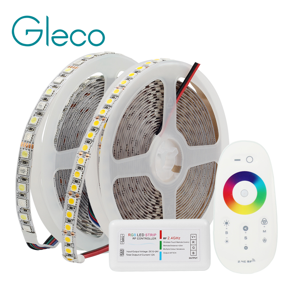 5M DC12V LED Strip 5050 SMD RGB, RGBW, RGBWW 96LED/m White, Warm White 120LED/m 5050 LED Flexible Strip Light IP20 / IP65