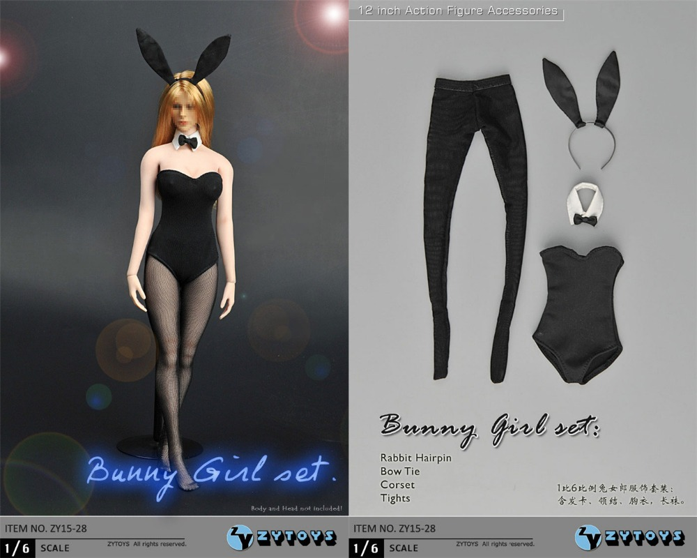 c2ee1b0dd custom 1/6 scale female sexy Bunny hairpin Girl Lingerie set for Kumik  Phicen Hot figure Toys-in Action & Toy Figures from Toys & Hobbies on  Aliexpress.com ...