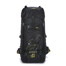 60L High Capacity Mountaineering Backpack Waterproof Nylon Climbing Backpack Travel Hiking Sport Bag Outdoor Camping Knapsack
