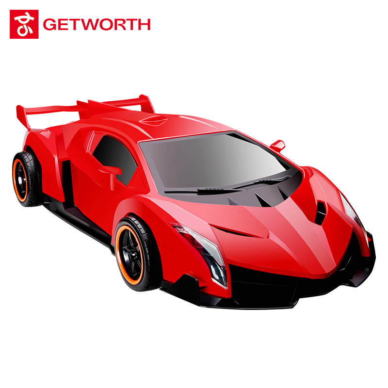 GETWORTH T26 Sports Car Shaped Desktop I3 7100 Gaming Computer 120G SSD, 8G RAM, WIFI, Genuine Win10 Remote Control Celular