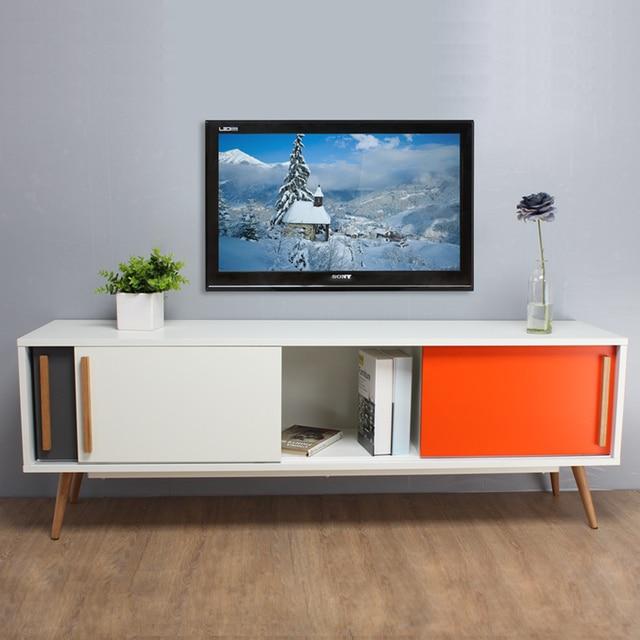 Moderno Mobile Da Bianco Tv Ikea Minimalista Lettocinese