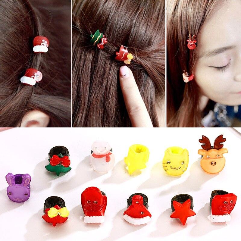 Girl Hair Accessories Hair Decor Christmas HairPin Gift Hair Clip