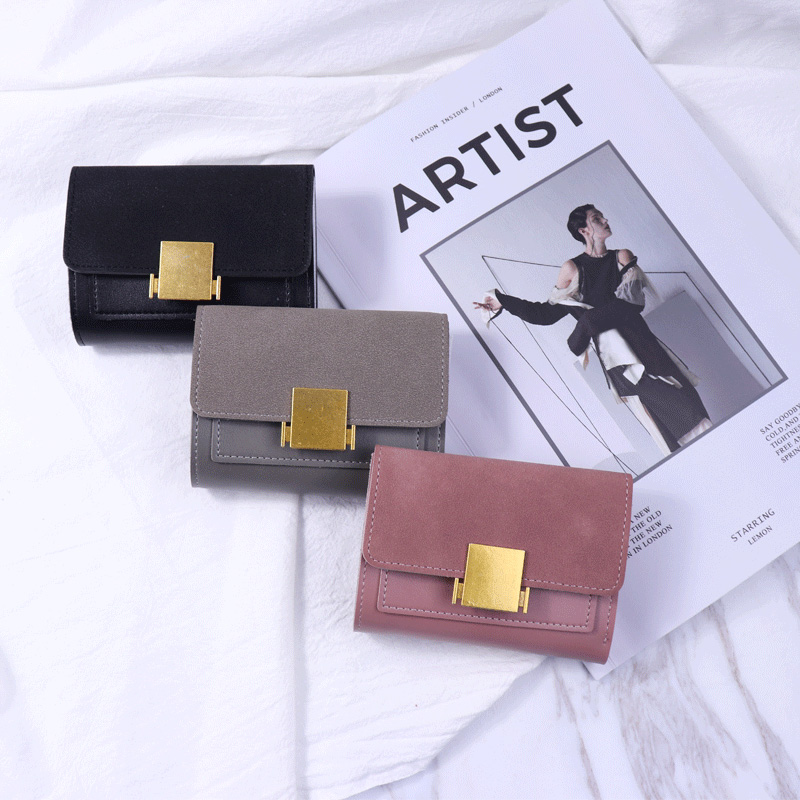 Luxury Brand Famous Mini Women Wallets Small Purses Matte Short Female Coin Purse Credit Card Holder Leather Women Wallet hot sale leather men s wallets famous brand casual short purses male small wallets cash card holder high quality money bags 2017