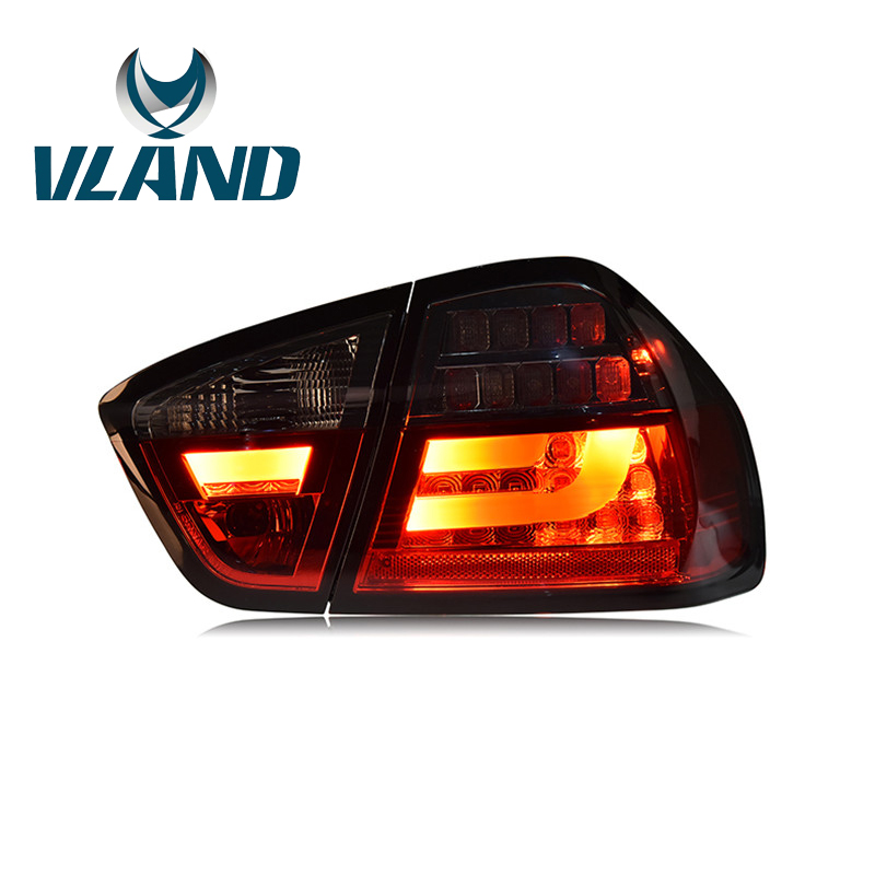 Vland Factory Car Accessories Tail Lamp for BMW E90 320 325i 2005 2012 LED Tail Light With DRL Waterproof