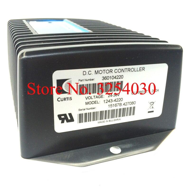 1243-4220 Forklift Truck Controller 24-36V 200A For Electric Forklift Parts
