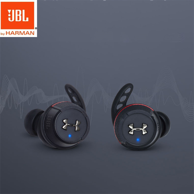 JBL UA FLASH Stereo Wireless Earphones Accessories Headphone Accessories Headphones color: BLACK