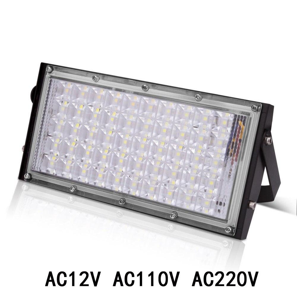 LED Flood Light Outdoor Lamp Led Spotlight Reflector Floodlight RGB 10W 20W 30W 50W Waterproof Garden 12V 220V 110V Lighting