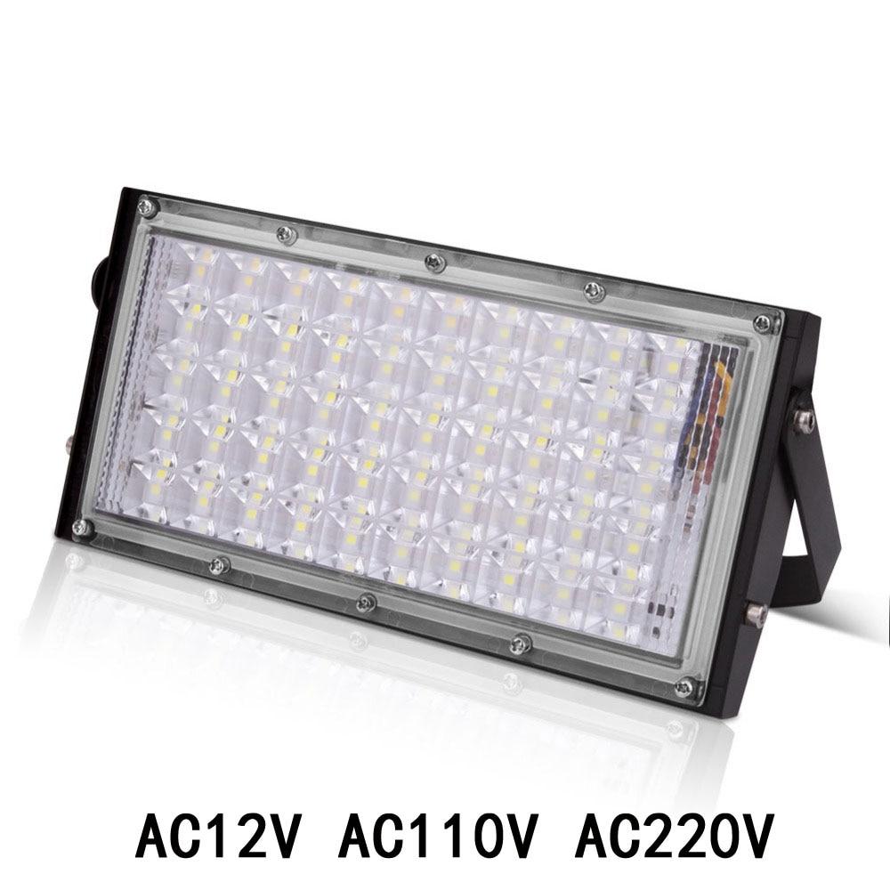 Светодиодный прожектор, уличная лампа, светодиодный прожектор с отражателем, прожексветильник RGB, 10 Вт, 20 Вт, 30 Вт, 50 Вт, водонепроницаемый са...
