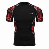Muscle Shirt Men S Tightening Compression T Shirt Sleeve Sleeve Hot Top MMA Rashguard Health Club
