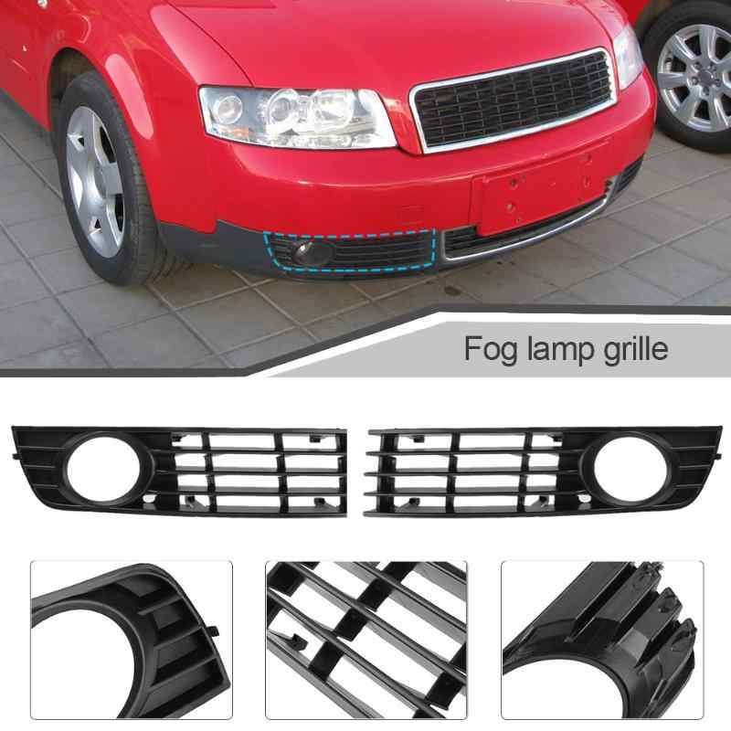 VODOOL Left Right Front Bumper Lower Fog Light Grille Cover for Audi A4 B6 02-05 8E0807681 Car Styling Car Foglight Grill Grille